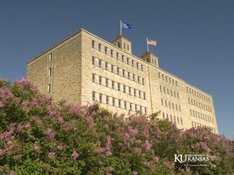 KU Fraser Hall trees